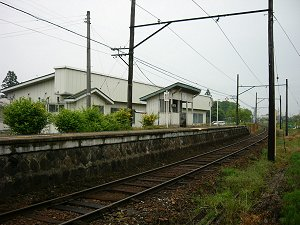 谷地畑駅(くりはら田園鉄道)